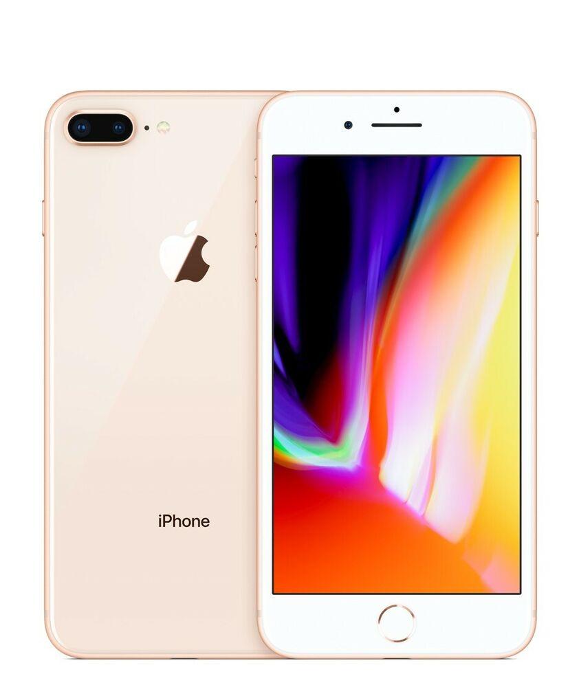 APPLE IPHONE 8 PLUS 256GB UNLOCKED SMARTPHONE - GOLD - GRADE