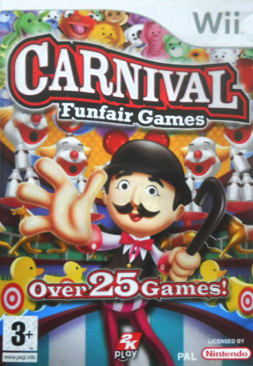 CARNIVAL: FUNFAIR GAMES FOR NINTENDO Wii - COMPLETE
