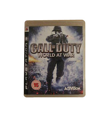 Call of Duty: World at War (Sony PlayStation )