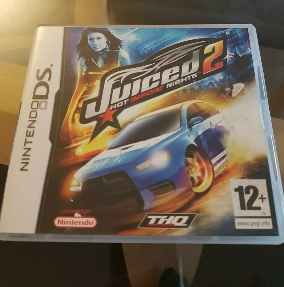 Juiced 2: Hot Import Nights (Nintendo DS, )