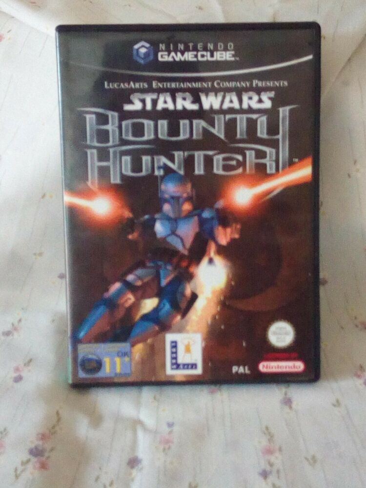 Nintendo GameCube Star Wars Bounty Hunter