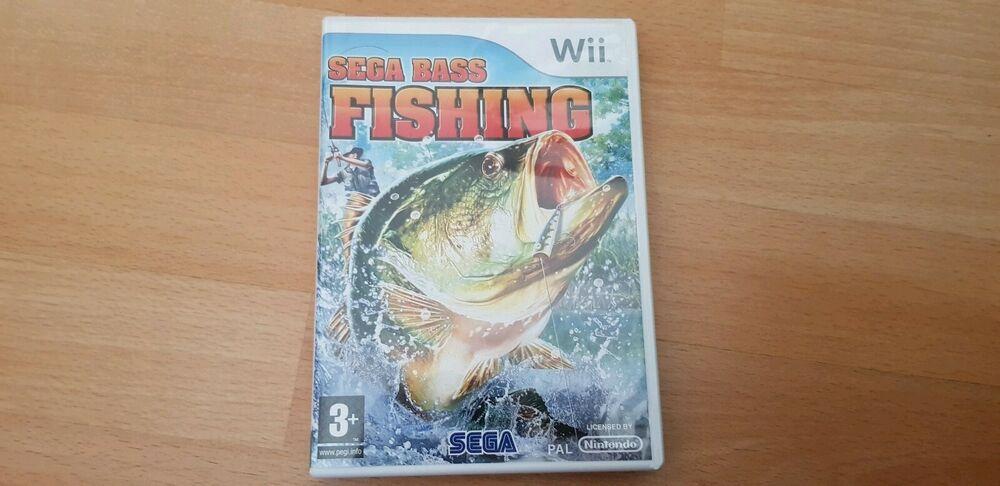 Nintendo Wii Sega Bass Fishing Game