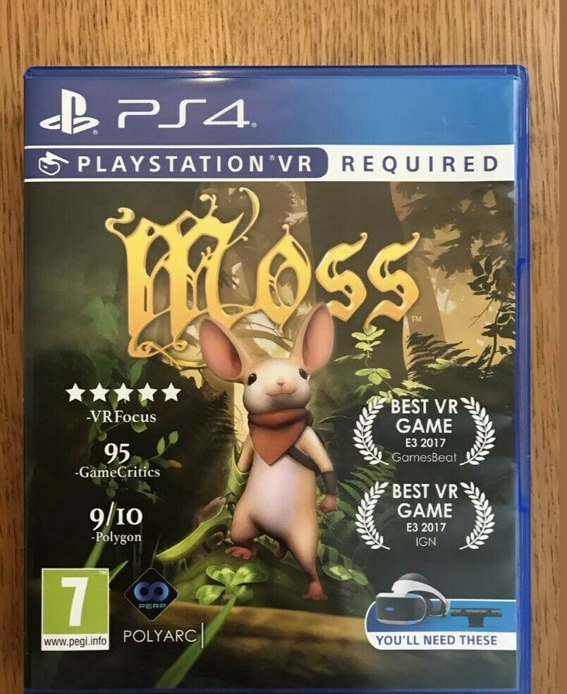 PS4 Moss PS VR (Virtual reality headset required)