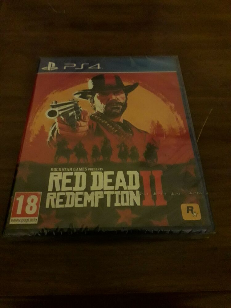 Red Dead Redemption 2 ps4 brand new sealed