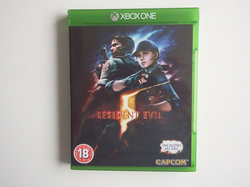 Resident Evil 5 on Xbox One in MINT Condition