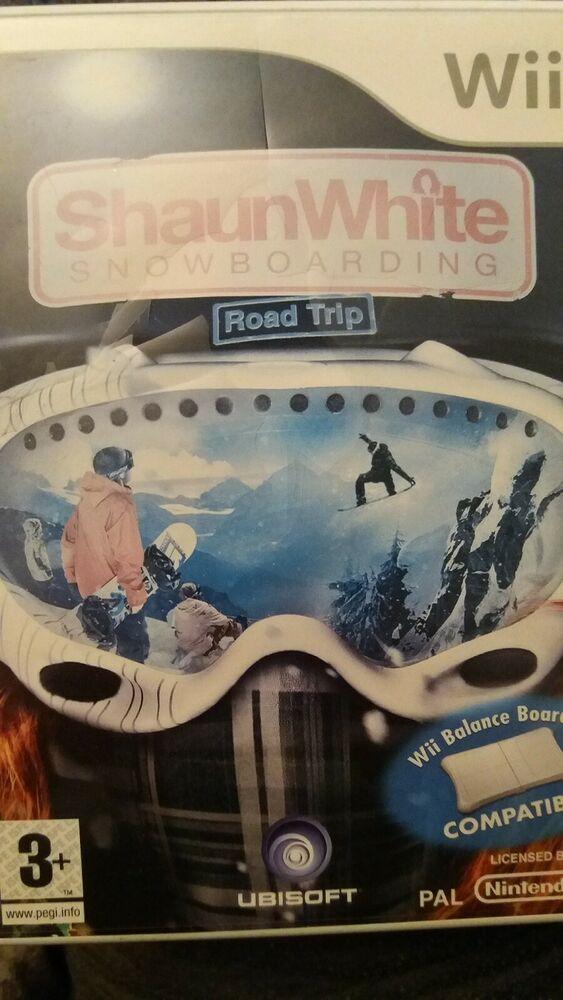 Shaun White Snowboarding: Road Trip (Nintendo Wii, )