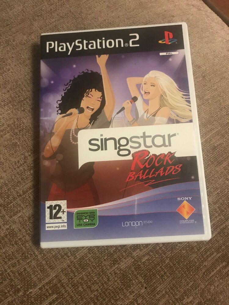 SingStar Rock Ballads - Solus (Sony PlayStation )