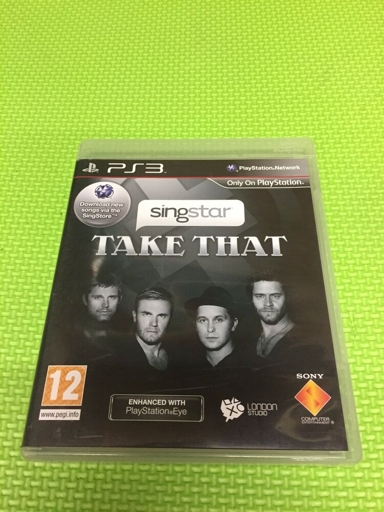SingStar Take That (Sony PlayStation )