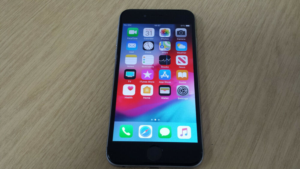 WORKING Apple iPhone 6 AGB Space Grey unlocked, GOOD