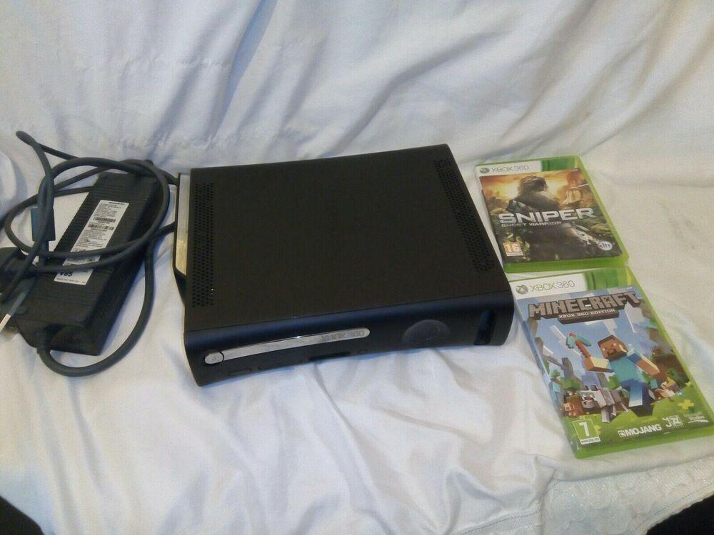 Microsoft Xbox 360 Elite 120GB Black Console + Halo 3 &