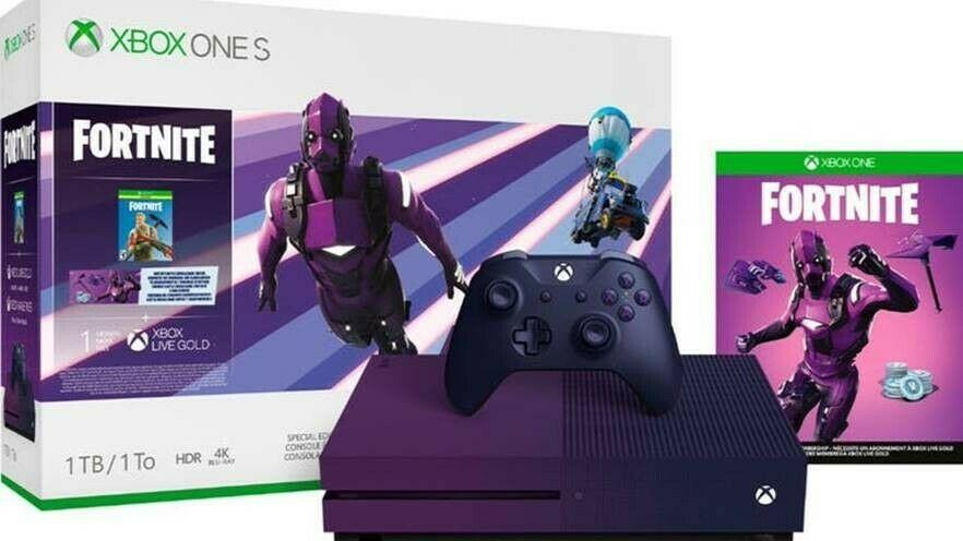 Microsoft Xbox One S1TBFortnite Special Edition Dark