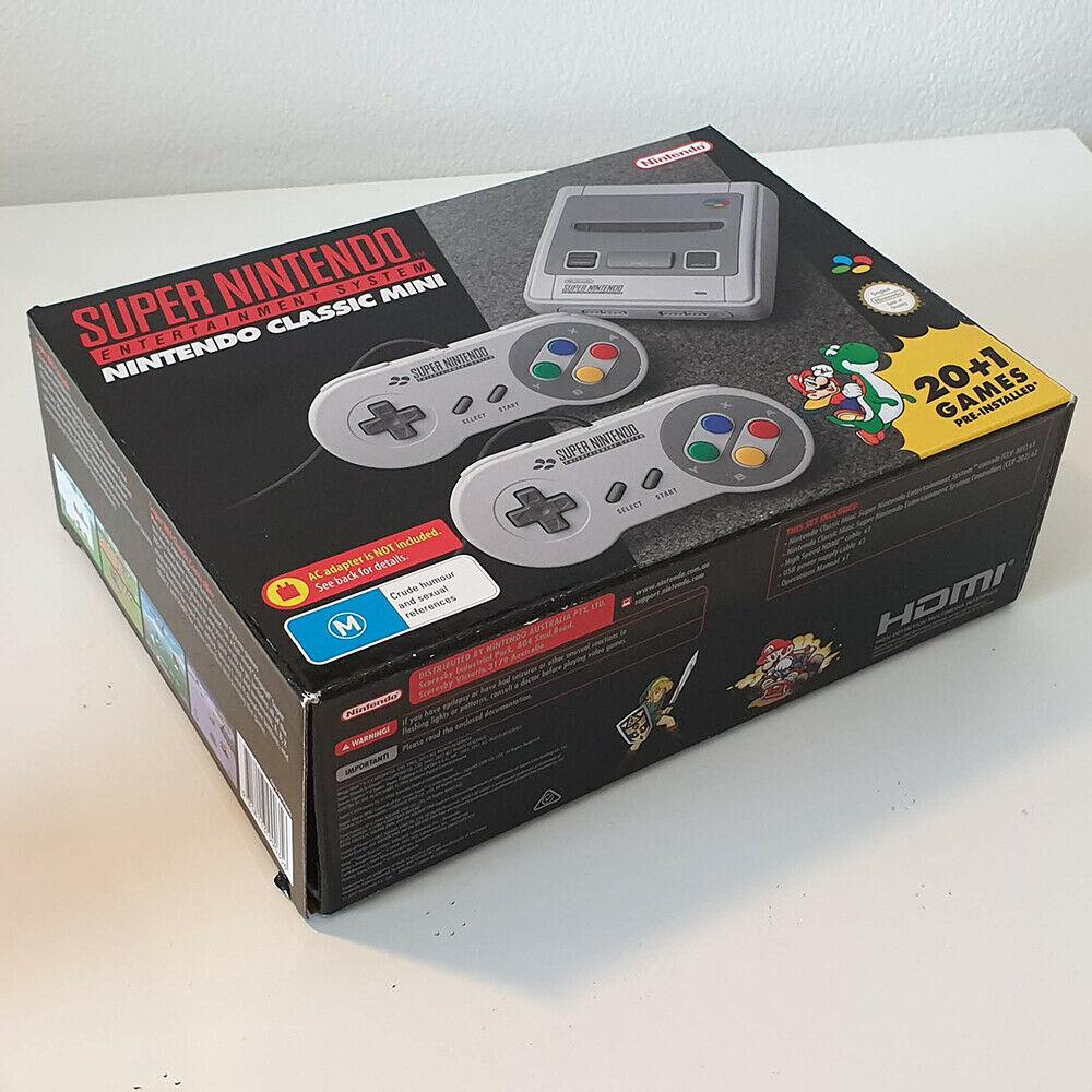 Nintendo Classic Mini: Super Nintendo Entertainment System -