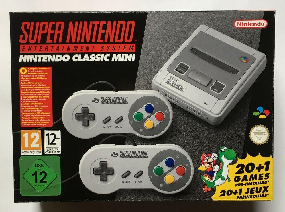 SNES Super Nintendo Classic Mini (Super Nintendo) Factory