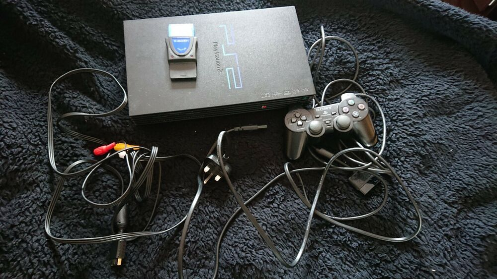 Sony PlayStation 2 Black Console (SCPH-) Controller