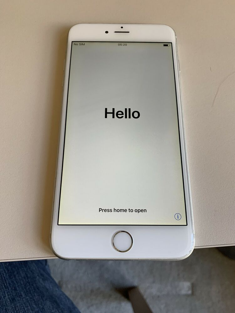 Apple iPhone 6 Plus - 128GB - Silver (Unlocked) - Immaculate