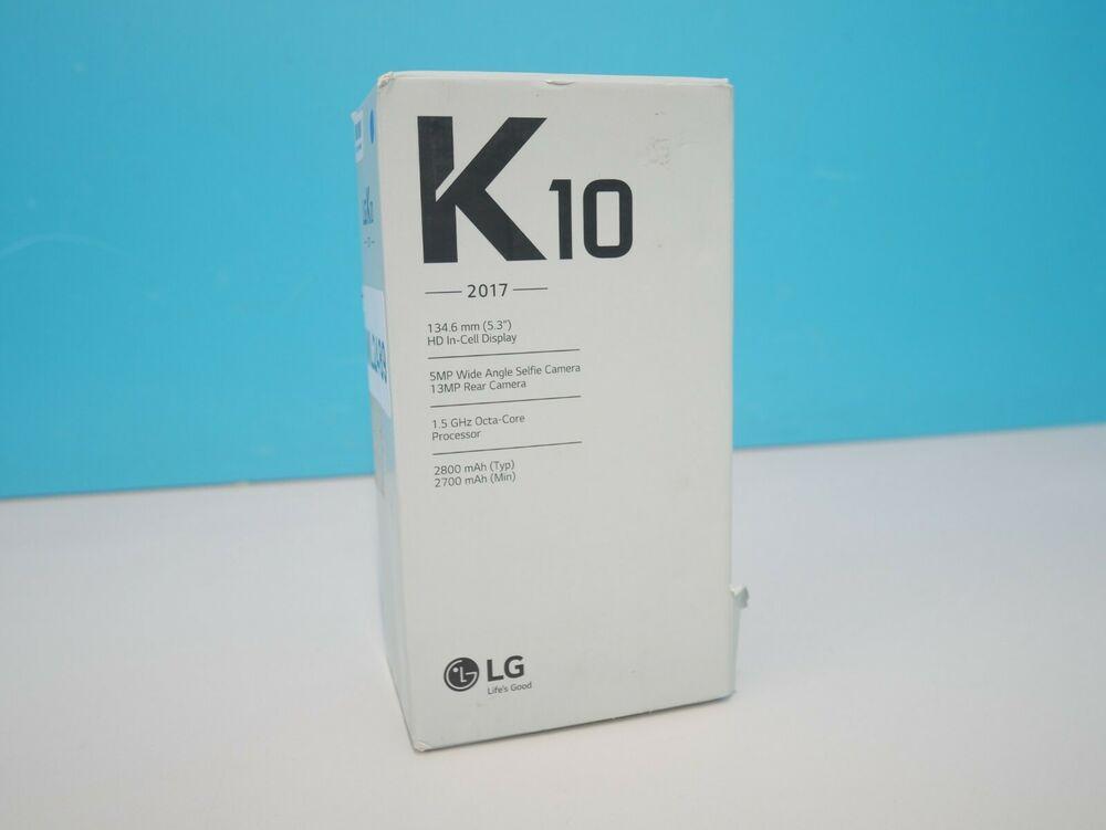 "LG K10 Octa-Core 2GB 16GB Android OS 5.3"" - Black ()"