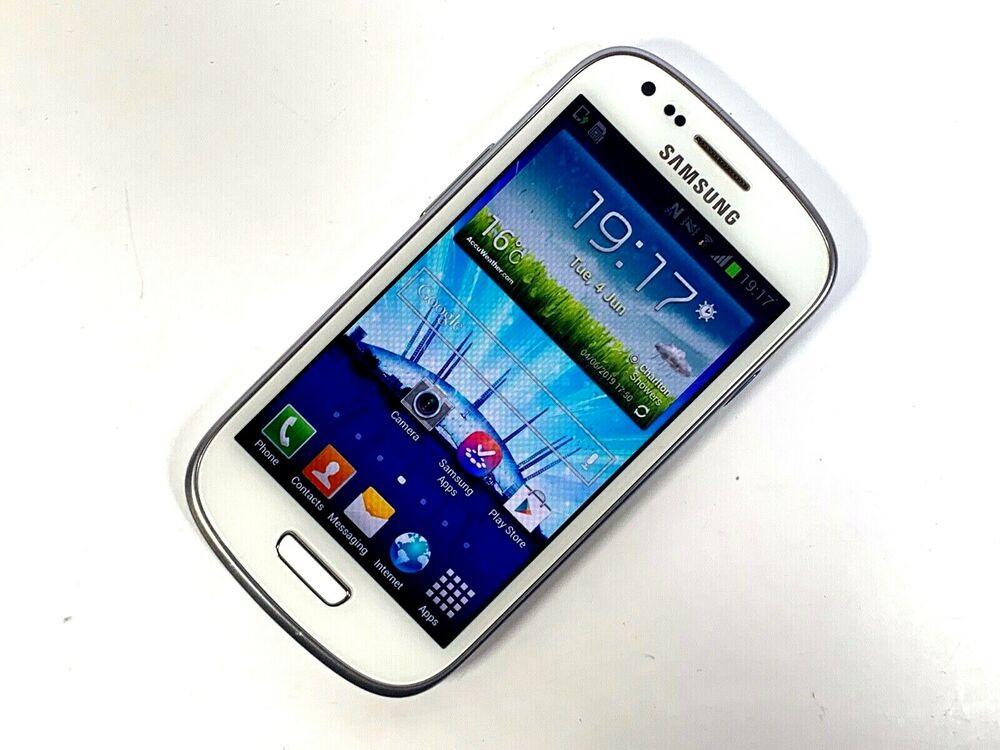Samsung Galaxy S III Mini S3 Mini - 16GB - White (Unlocked)