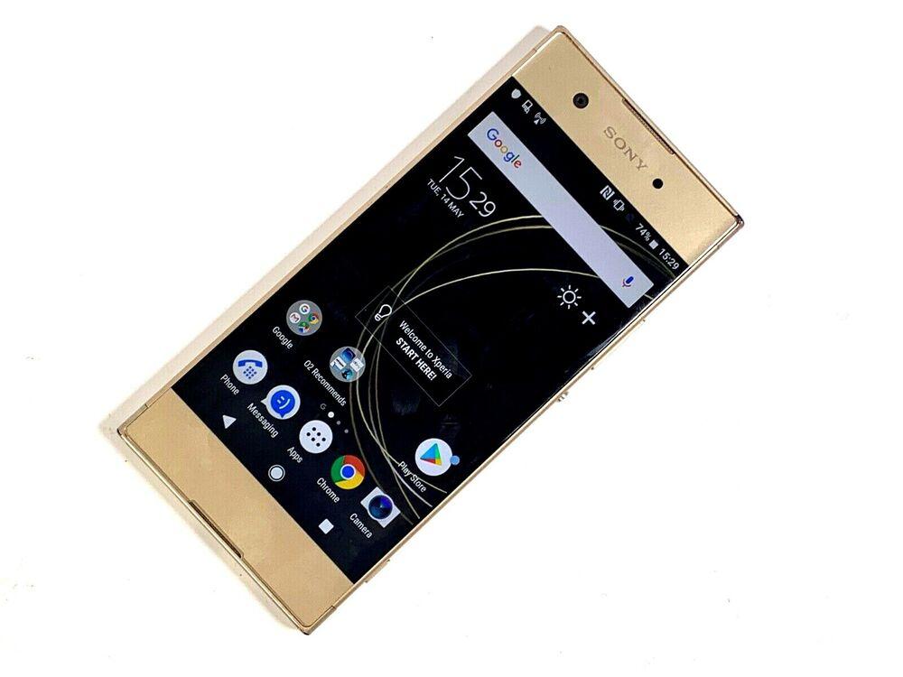 Sony Xperia XA1 - 32GB - Gold (Unlocked) FAULTY,