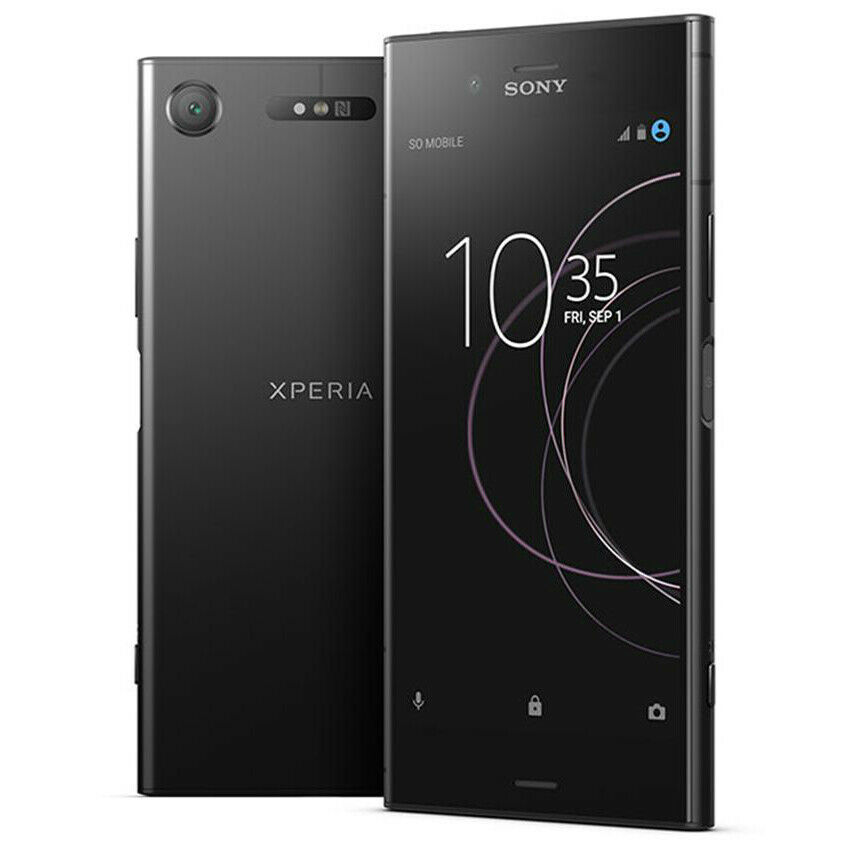 Sony Xperia XZ1 - 64GB - Black (Unlocked) Smartphone