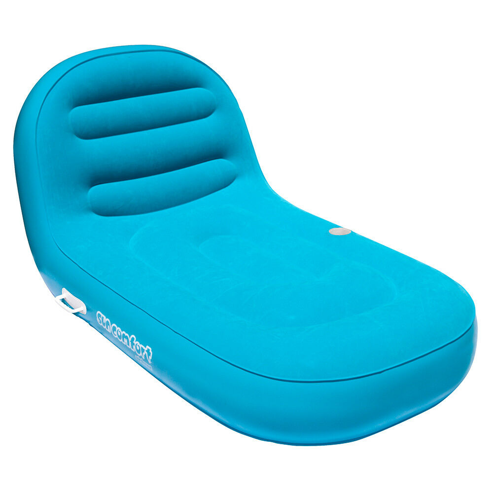 AIRHEAD SunComfort Cool Suede Chaise Lounge - Sapphire