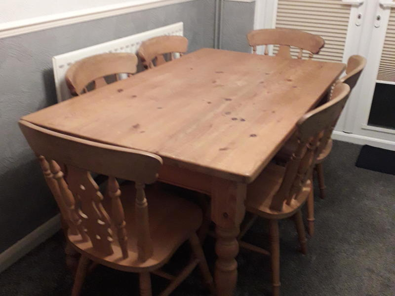Ikea Stornas Kaustby Dining Table And 6 Posot Class