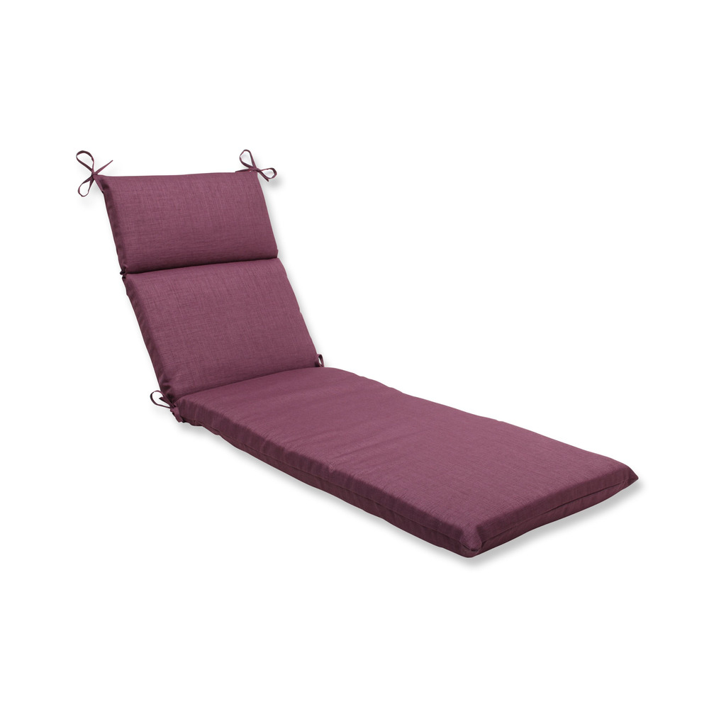 Pillow Perfect Outdoor Rave Vineyard Chaise Lounge Cushion