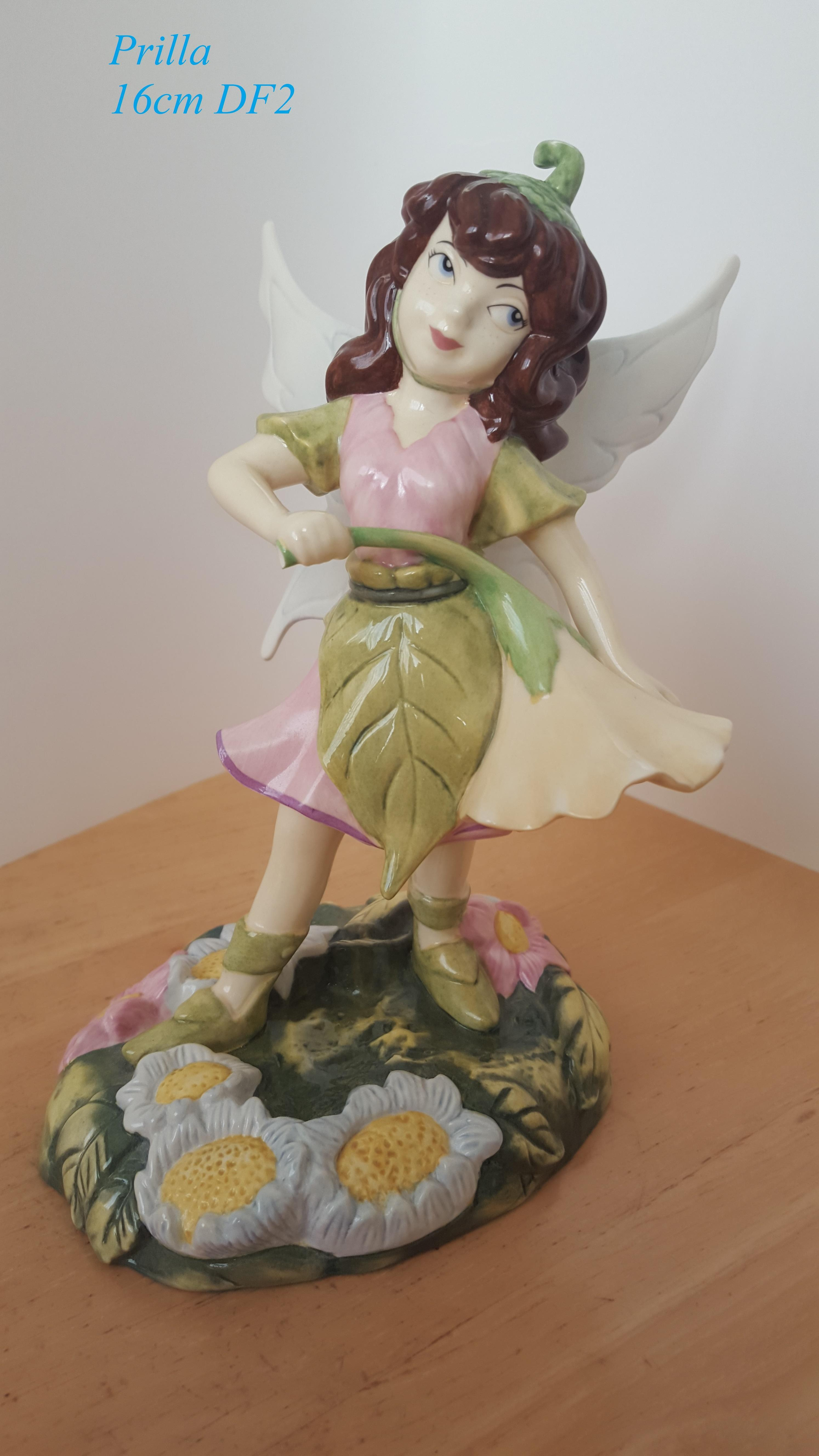 ROYAL DOULTON Disney Fairies Collection Figurine Prilla 16cm