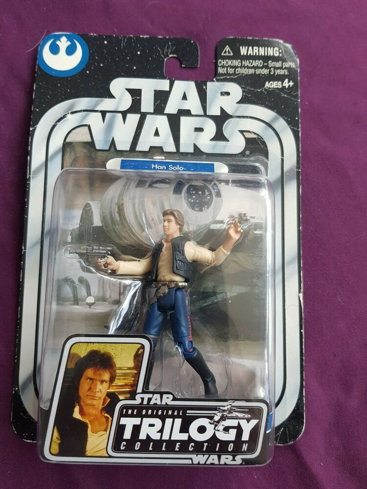 Star Wars The Original Trilogy Collection Han Solo Figure