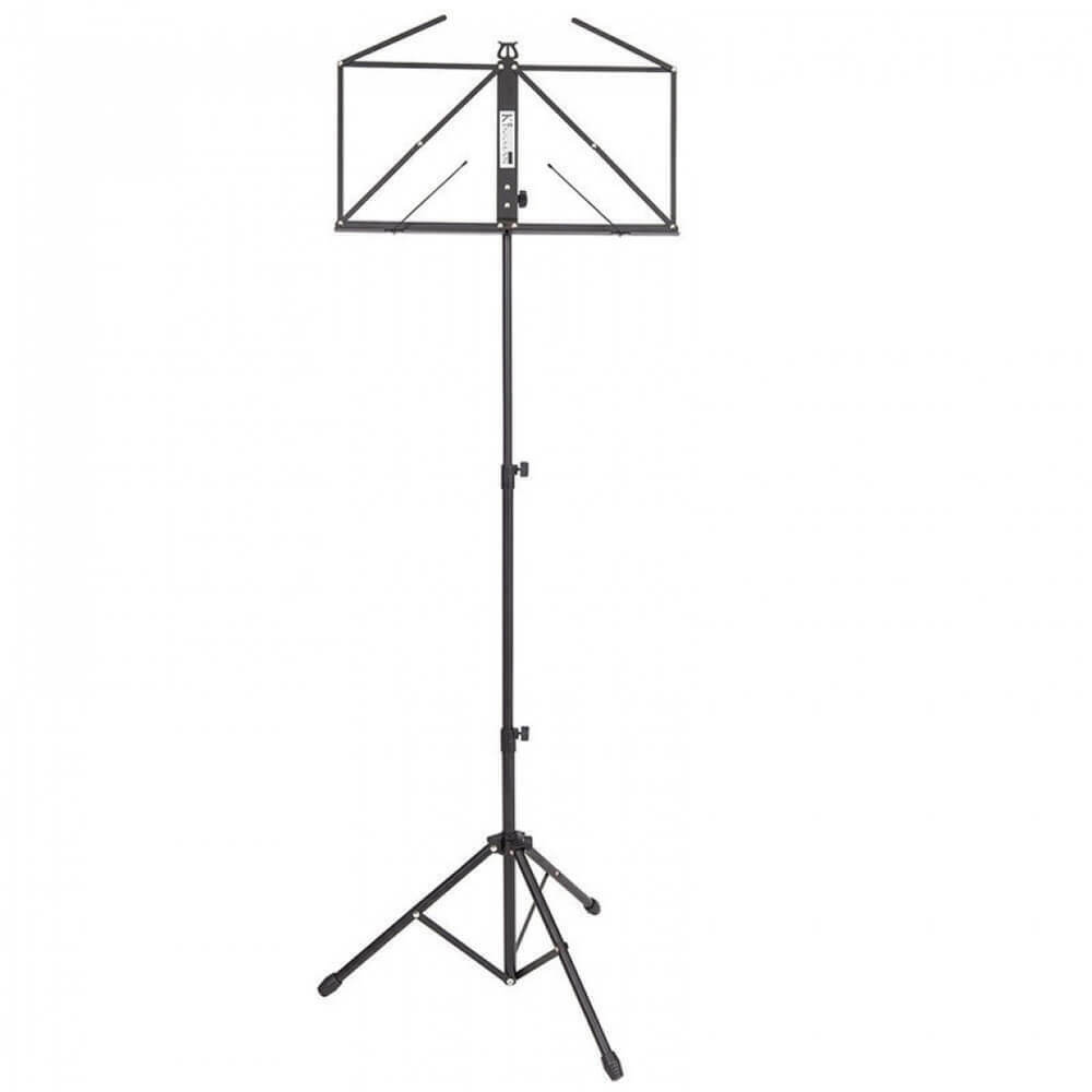 Kinsman Deluxe Music Stand and Bag - Black