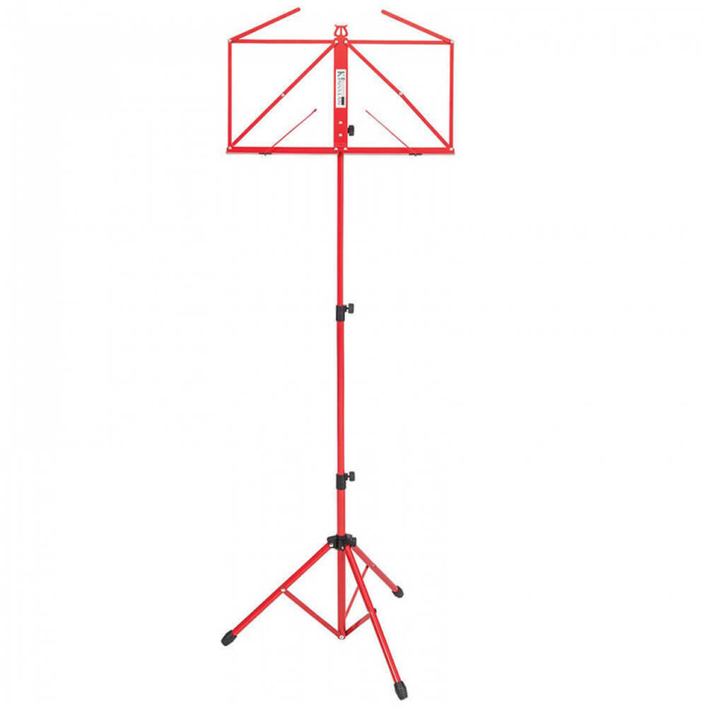 Kinsman Deluxe Music Stand and Bag - Red