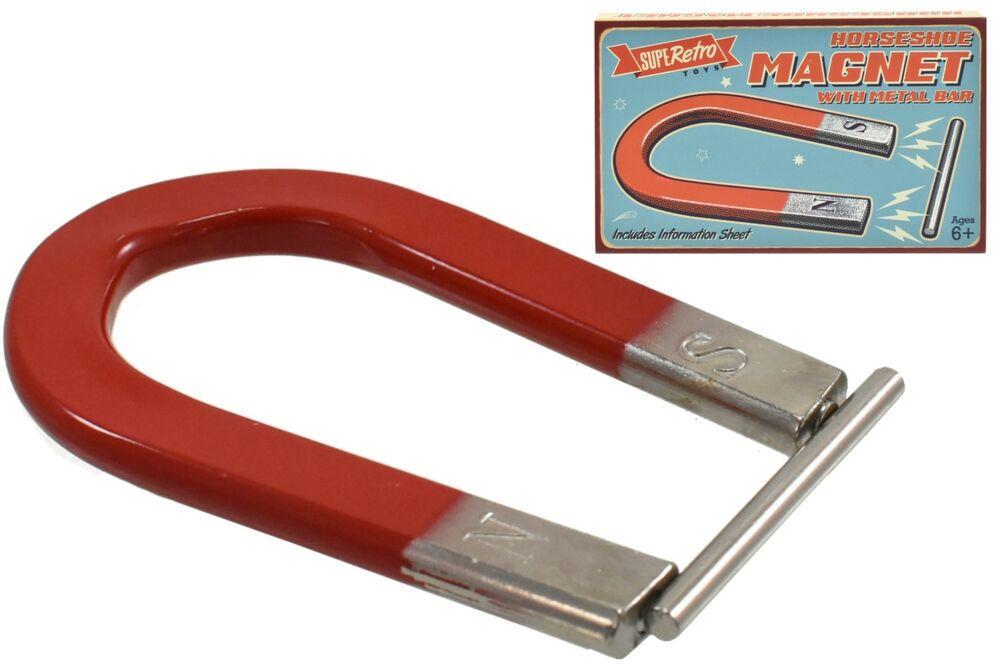 Large Horseshoe Magnet 11.5 cm magnetic toy science Stocking