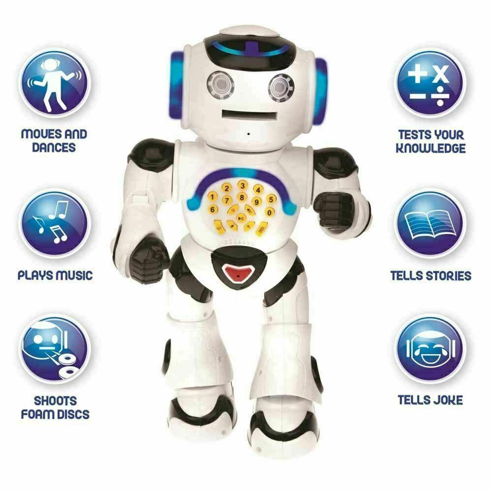 Lexibook Powerman Educational Talking Robot Toy Black/White