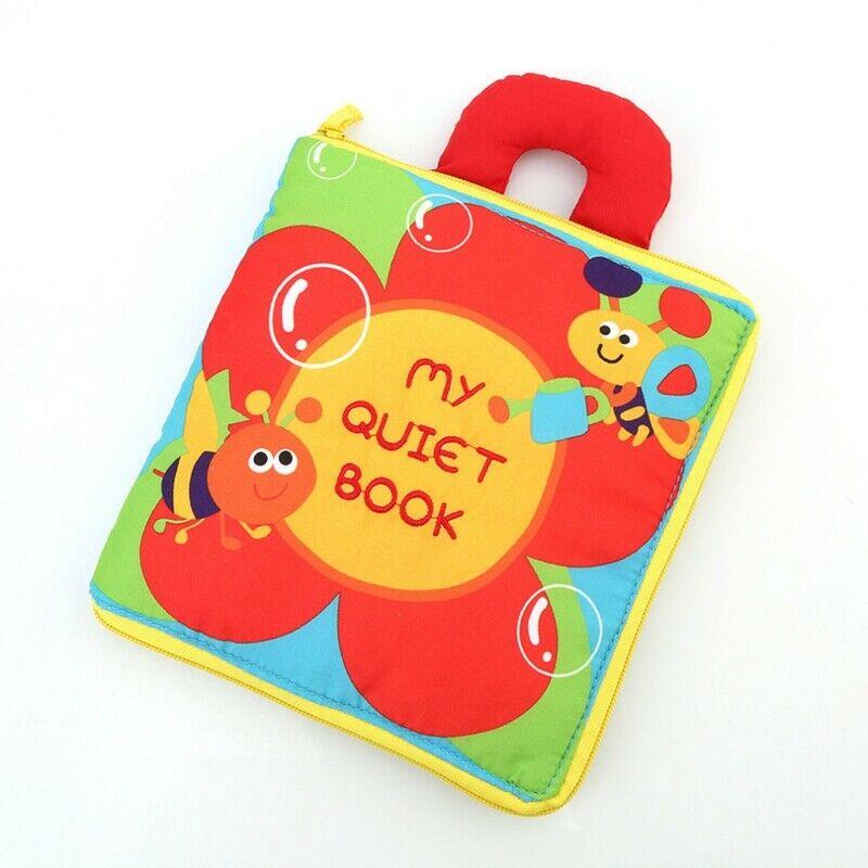 Soft Books Infant Early cognitive Development My Quiet