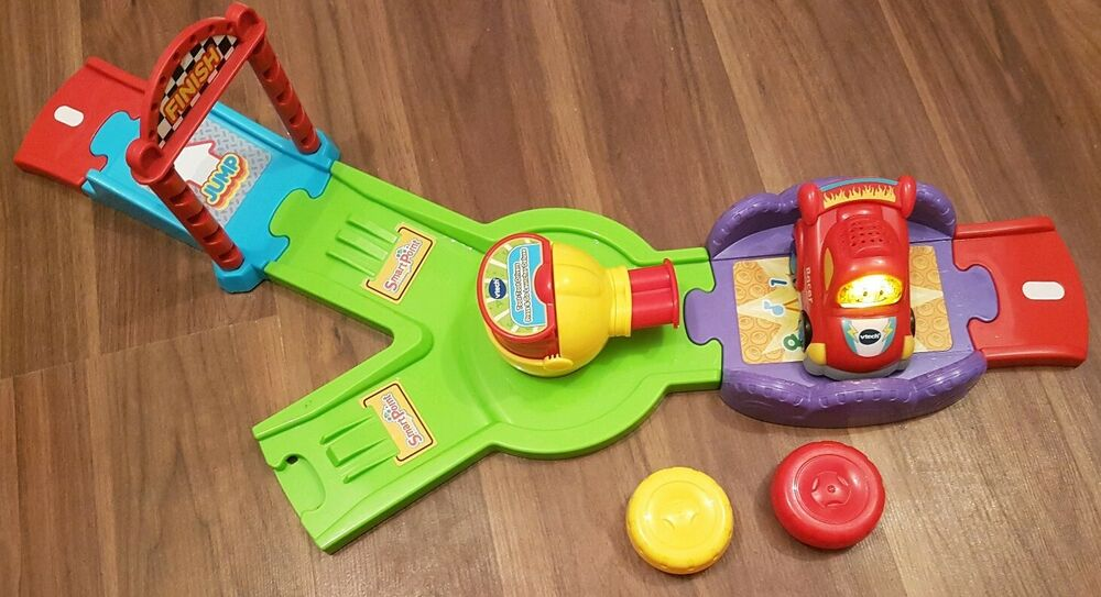 VTech Baby Toot Toot Drivers press & Go Launcher deluxe
