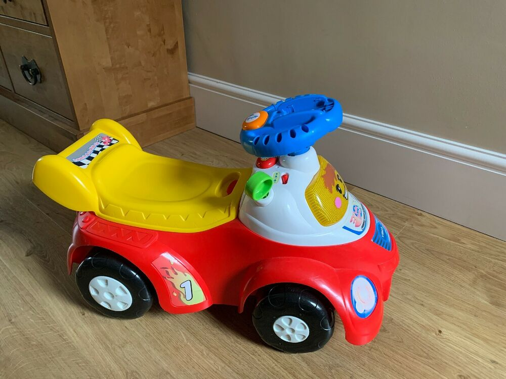 VTech Launch Ride On & Go Pre School Activity Toy Toot Toot
