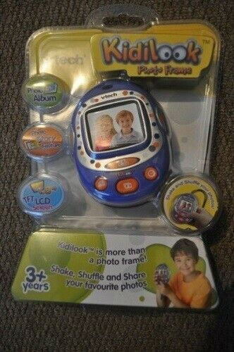 Vtech Kidilook Photo Frame NEW blue