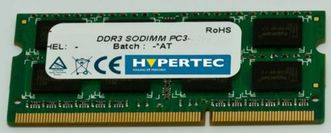 Hypertec B4U36AA-HY/SR - A HP equivalent 4 GB Dual channel -