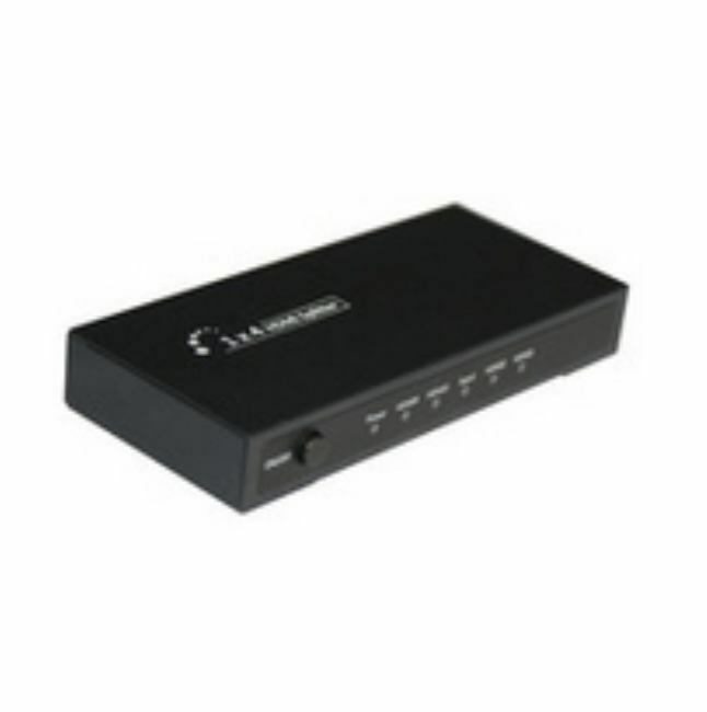 Microconnect MC-HMSP104K - 1 x 4 HDMI 4Kx2K Splitter - Power