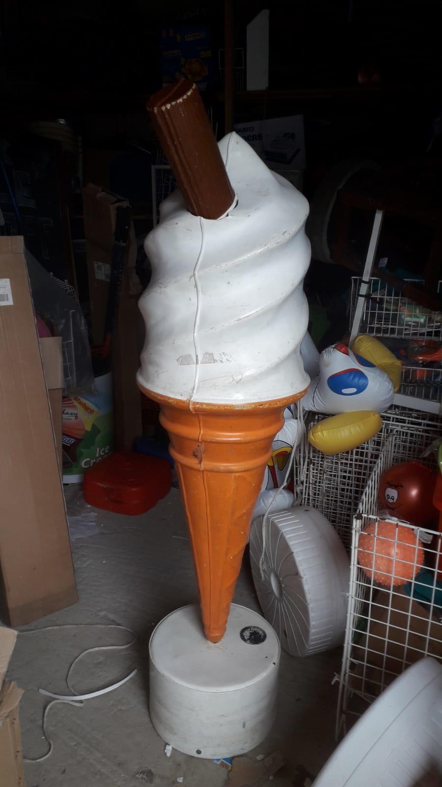 5 feet giant plastic 99 ice cream