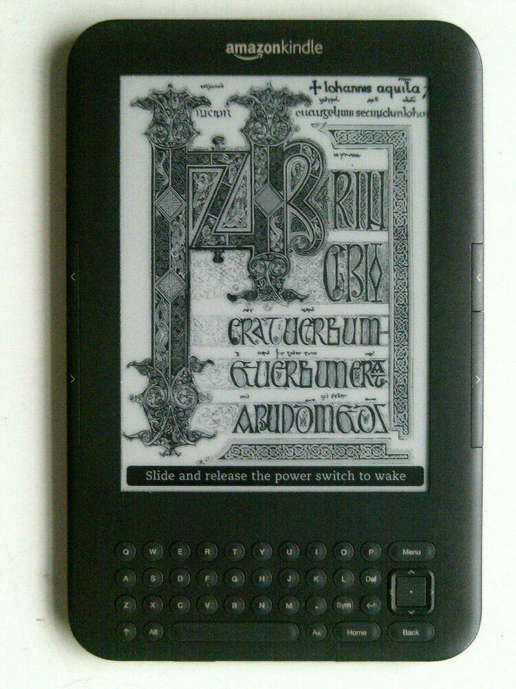 Amazon Kindle Keyboard (3rd Generation) 4GB, Wi-Fi, 6in -