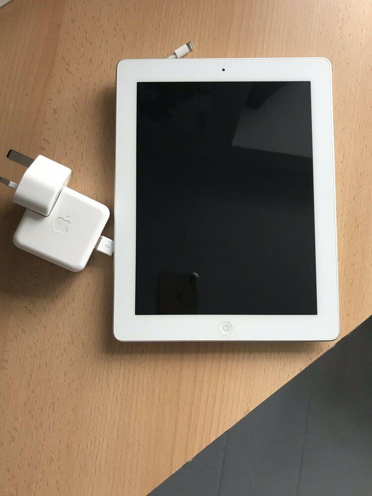 Apple iPad 4th Gen. 16GB, Wi-Fi, 9.7in - White And It's