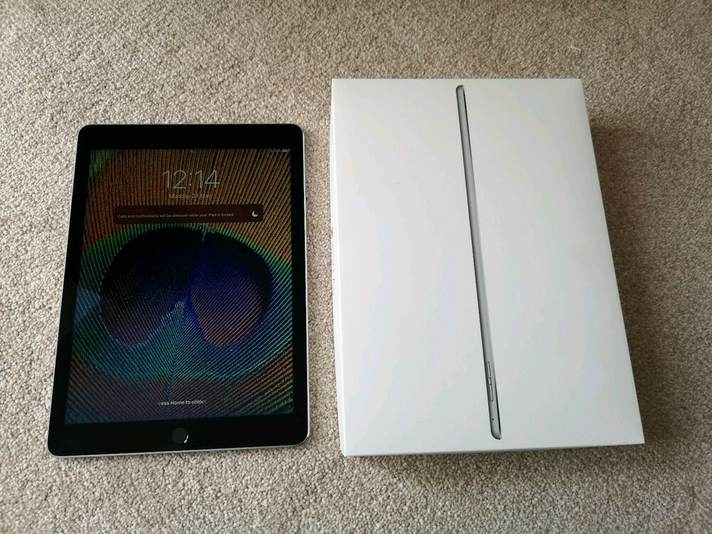 Apple iPad Air 2 64GB, Wi-Fi, 9.7in - Space Grey (Original