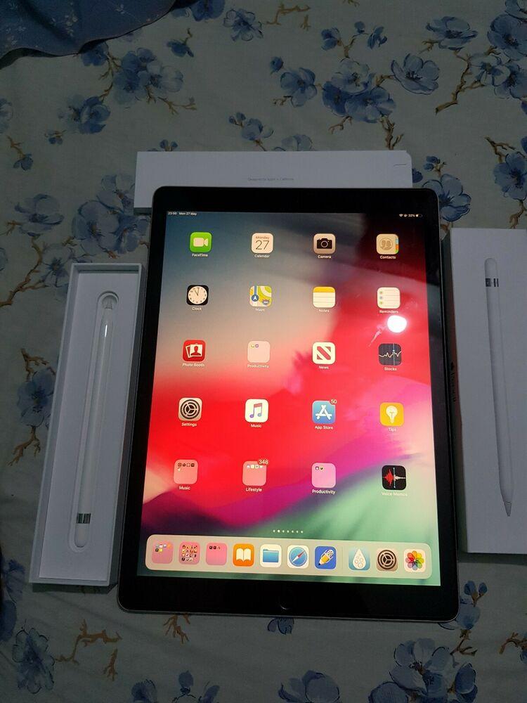 Apple iPad Pro 2nd Gen. 256GB, Wi-Fi, 12.9in - Space Grey +