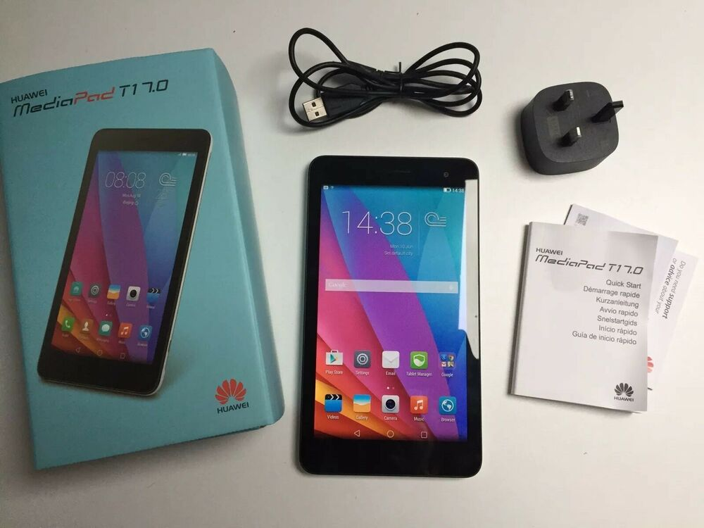 "Huawei MediaPad T1 7.0 WiFi Silver/black 8GB 7"" Tablet"