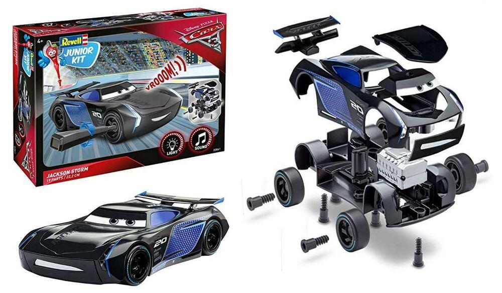 Revell Disney Pixar Cars 3 Jackson Storm Junior Kit (Level