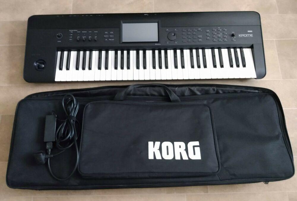 KORG KROME 61 Key Music Workstation - With Original Korg