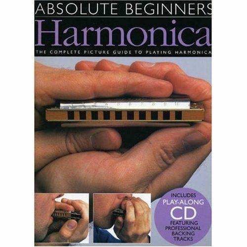 LEARN HOW TO PLAY HARMONICA BEGINNERS SHEET MUSIC BOOK & CD