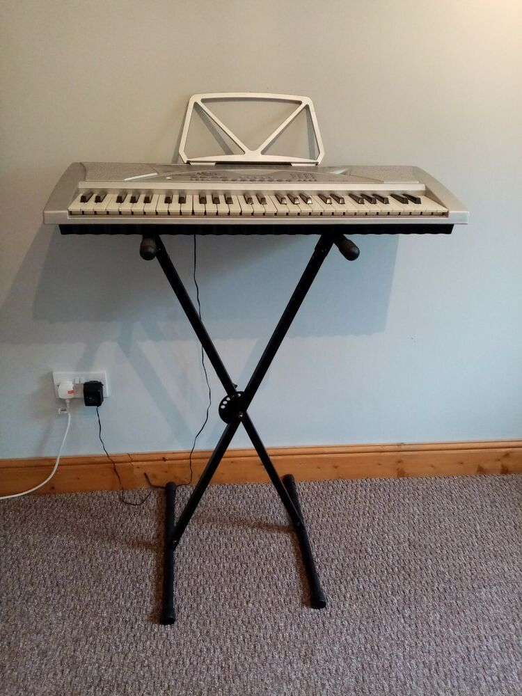 Mk--key Electronic Keyboard With Stand