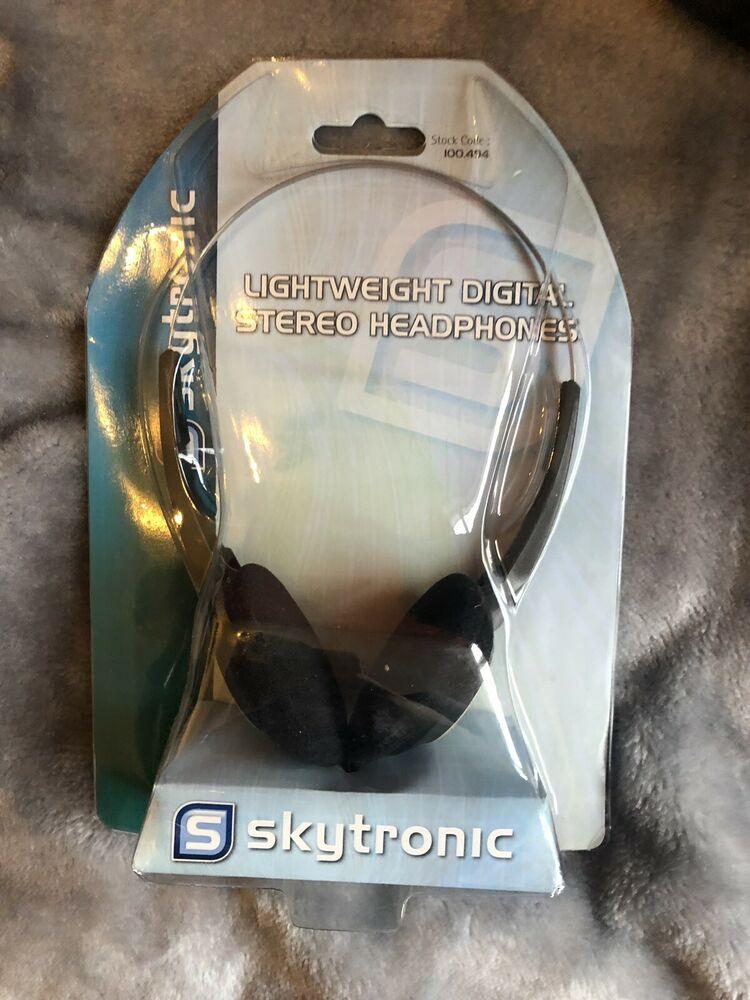 Skytronic Lightweight Digital Stereo Headphones