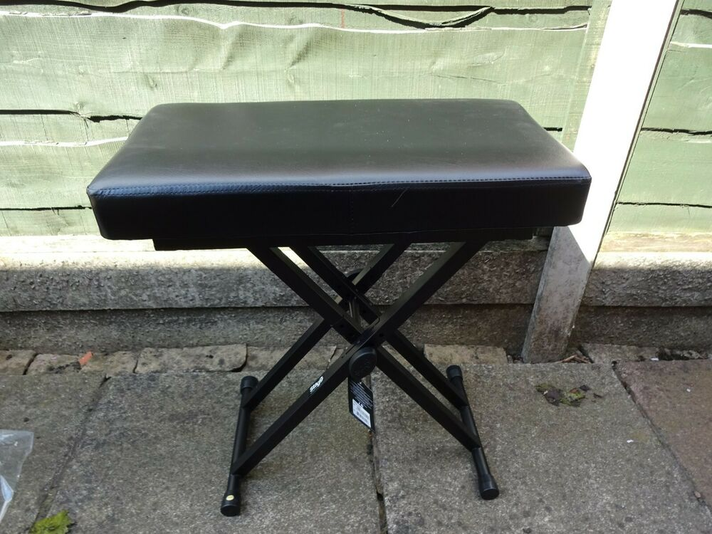 Stagg KEB-A60 Adjustable Keyboard Bench - Double Braced NEW